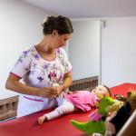 Kinetoterapie bebelusi