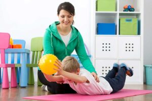 kinetoterapia si sanatatea copiilor